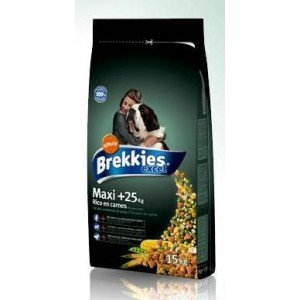 Brekkies Dog Maxi Excel Сухой корм для собак крупных пород 15кг