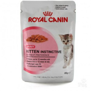 Royal Canin (Роял Канин) Консерва для котят Kitten Instinctive 85гр (от 4 мес)